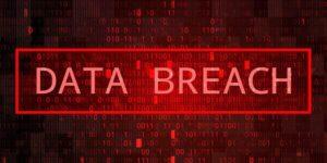 data breach digital image